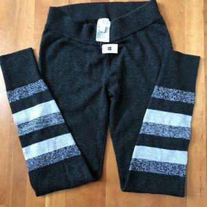 GAP Grey Knit Joggers Leggings, NWT